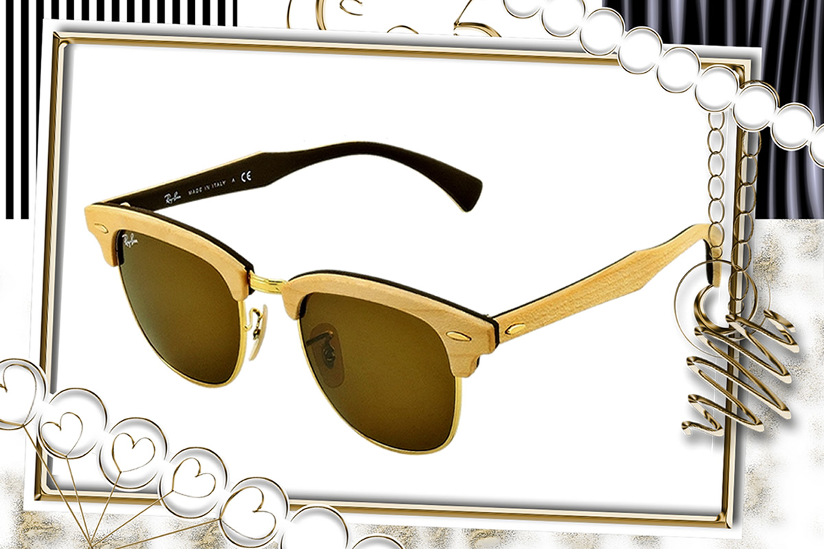 a76e14ad49aa1 Ótica Belaíris – Ray Ban 3016 Clubmaster Wood